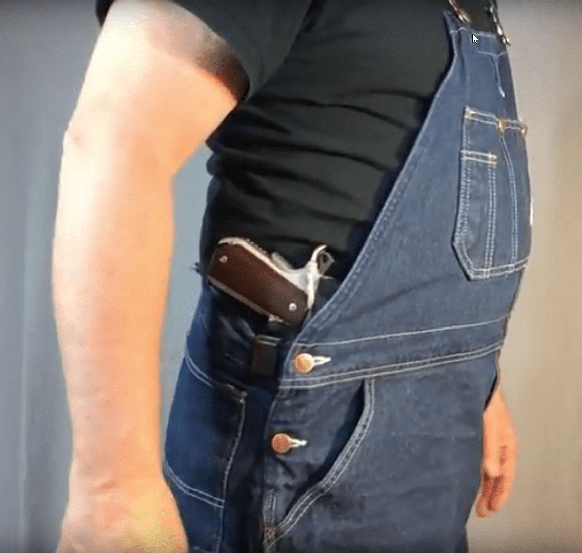 concealed carry with overalls