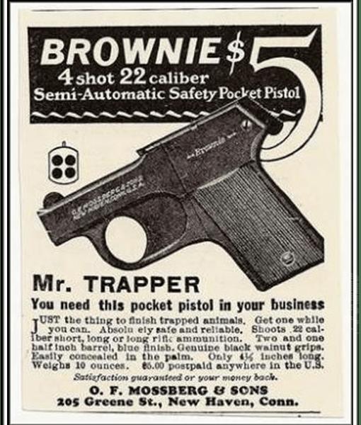 Mossberg brownie trapper pistol