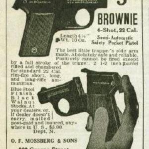 Mossberg Trapper pistol Advertisement